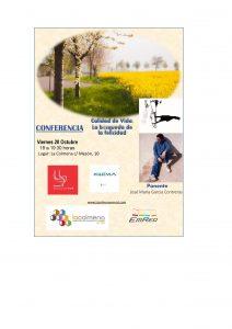 Conferencia CALIDAD DE VIDA